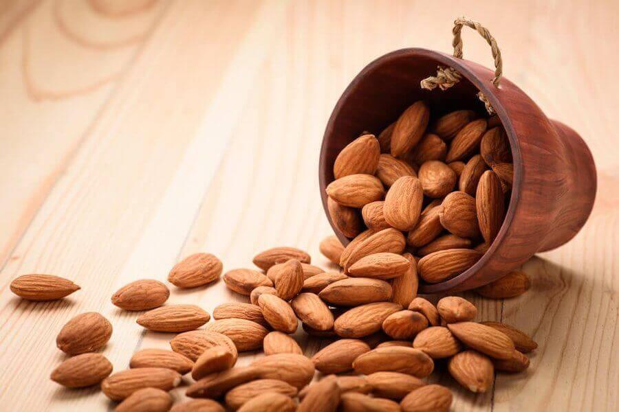 Les amandes sont vivement conseillées pour renforcer le système immunitaire.