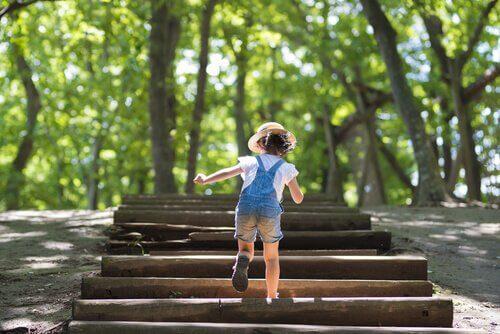 Transmettre aux enfants le désir de se dépasser
