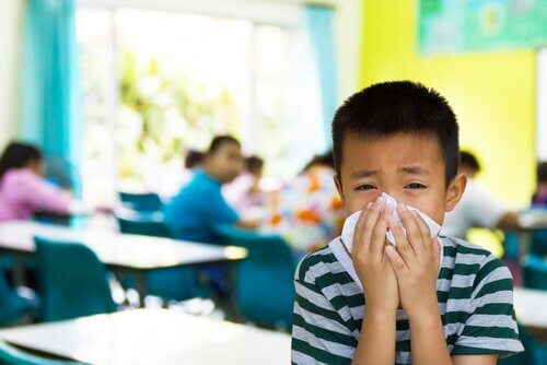 """7 maladies contagieuses à l""""école"""