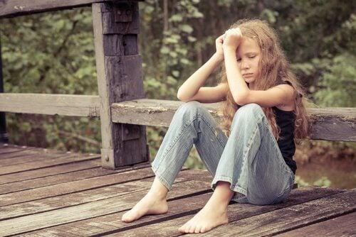 La tristesse chez les enfants ne doit pas s'installer et devenir intense et continue.