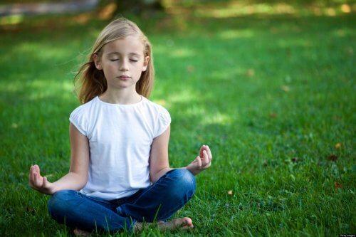 méditation en classe