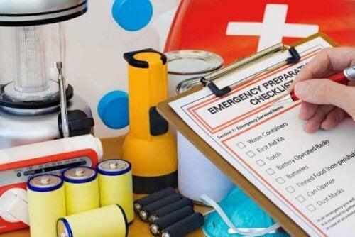 Liste pour préparer une trousse de secours