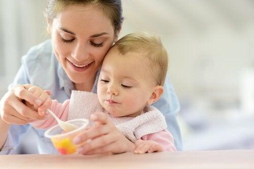 Recettes sucrées pour les bébés de 12 à 24 mois