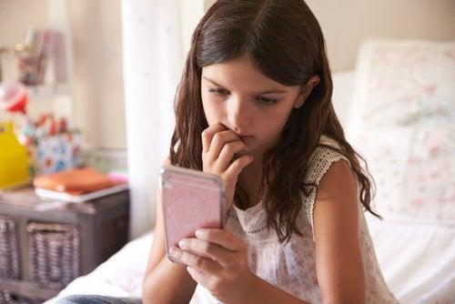 les effets de la technologie sur les enfants
