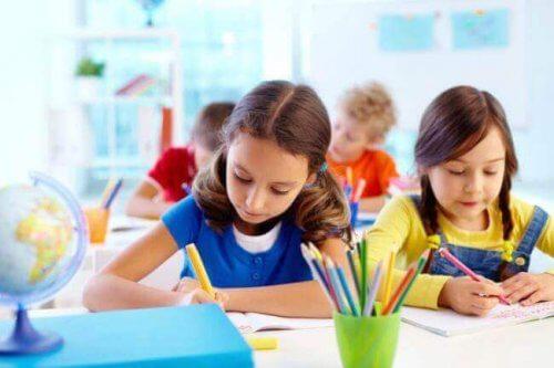 3 styles d'apprentissage chez les enfants