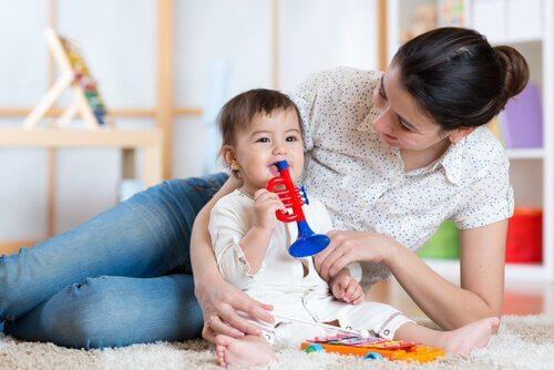discipline constructive pour les bébés