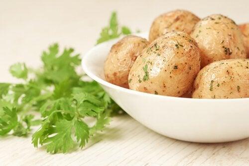 4 recettes avec des pommes de terre