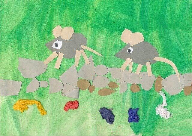 Il existe beaucoup de poèmes pour enfants qui mettent en scène des souris.
