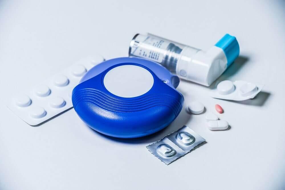 Traiter l'asthme maternel