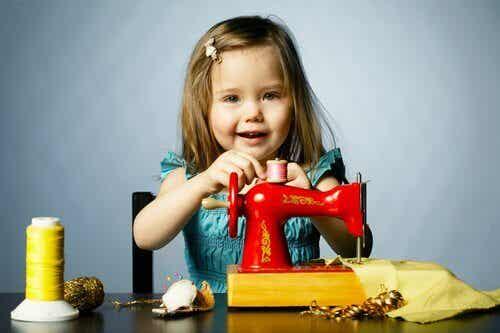 Les ateliers de couture pour les enfants