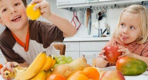 fruits attractifs pour les enfants