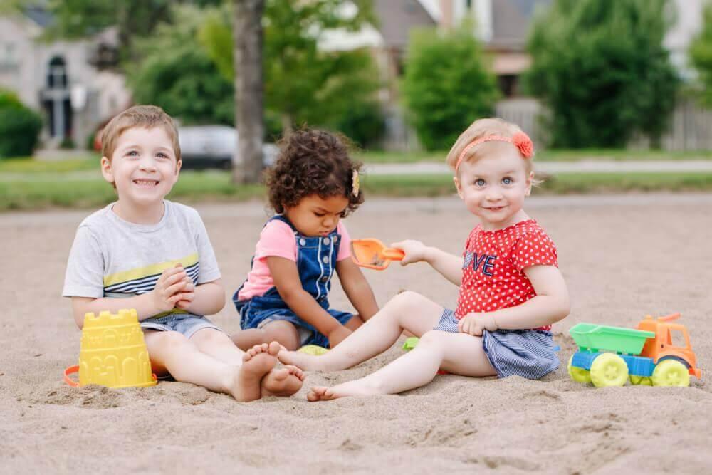 créer des liens avec d'autres enfants
