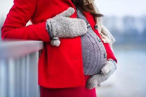 Vêtements d'hiver pour femmes enceintes