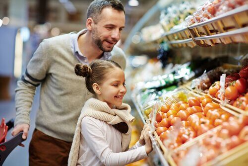 légumes attrayants pour les enfants