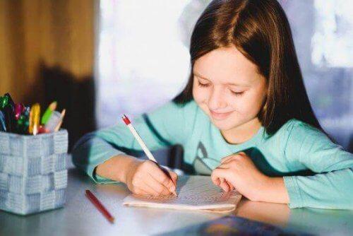 5 conseils pour améliorer l'écriture des enfants