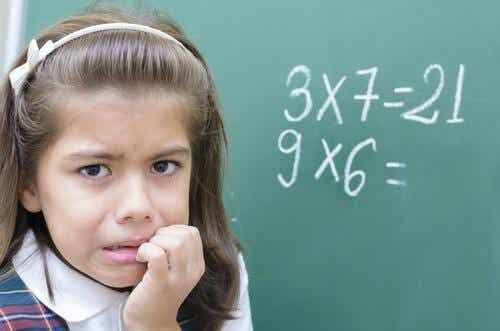 La peur des mathématiques chez les enfants