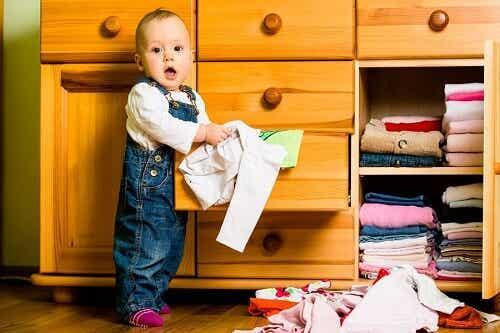 6 idées d'armoire pour la chambre de bébé