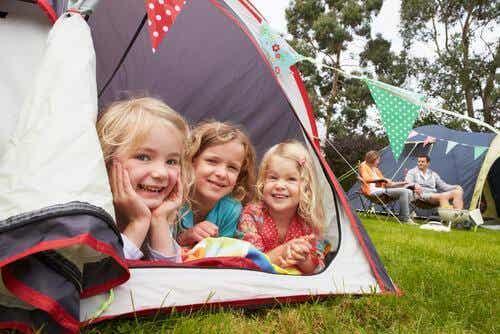 Partir camper avec les enfants, quelle aventure !