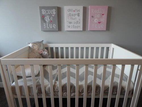 Des décorations pour la chambre du bébé