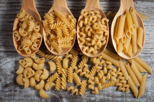 types de pâtes