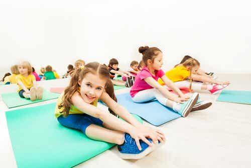 La souplesse physique chez les enfants