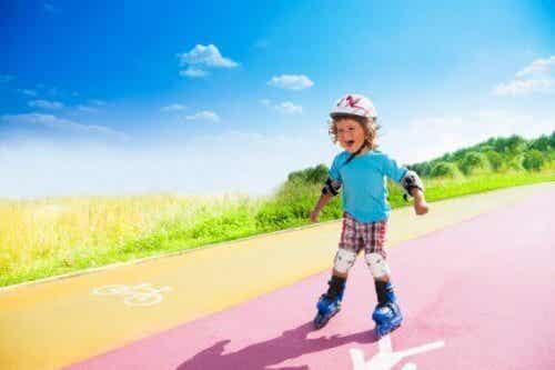 Comment apprendre à un enfant à faire du roller ?