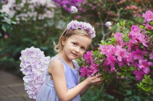 Les diadèmes de fleurs pour les filles