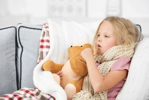 la toux chez les enfants