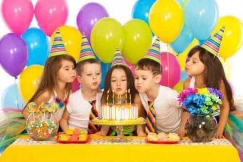 Les jeux faciles pour les goûters d'anniversaire