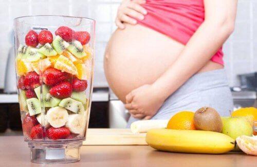 la femme enceinte et son alimentation