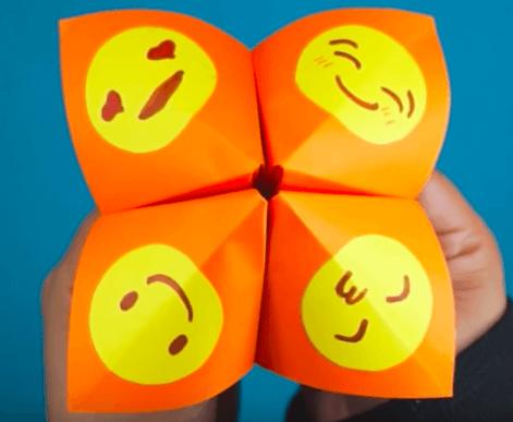 cocotte en papier des émotions