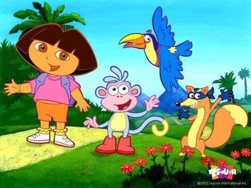 Dora l'Exploratrice est l'une des meilleures séries télévisées pour enfants.