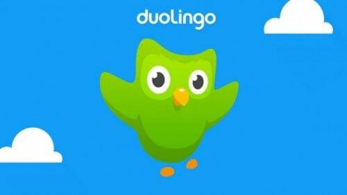 L'application Duolingo pour apprendre une langue étrangère