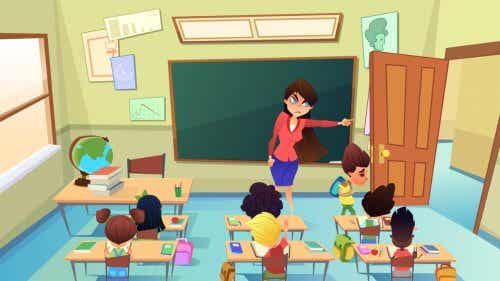Les punitions dans la salle de classe