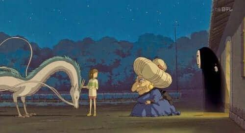 Scène du film le Voyage de Chihiro