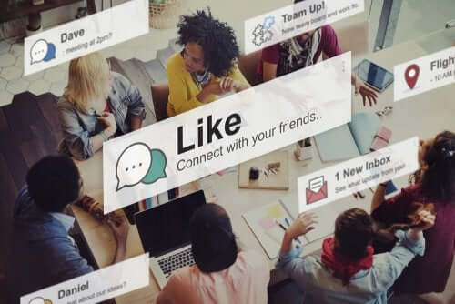 Notifications de réseaux sociaux