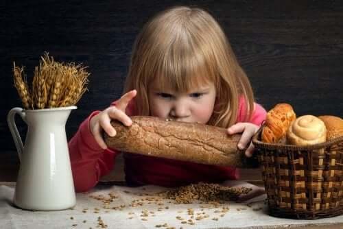 L'alimentation des enfants atteints de la maladie coeliaque