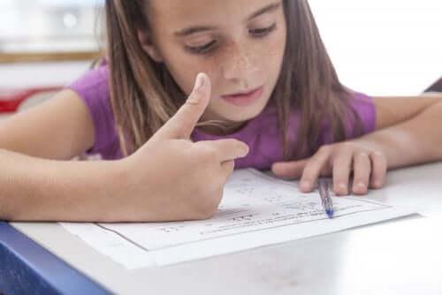 Comment savoir si mon enfant est atteint de dyscalculie ?