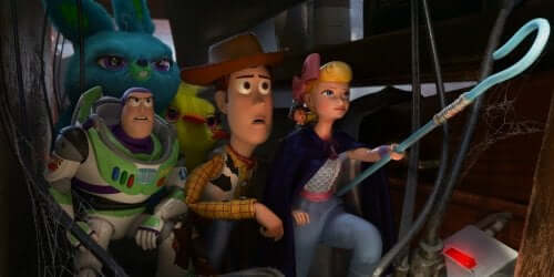 Extrait du film d'animation Toy Story 4
