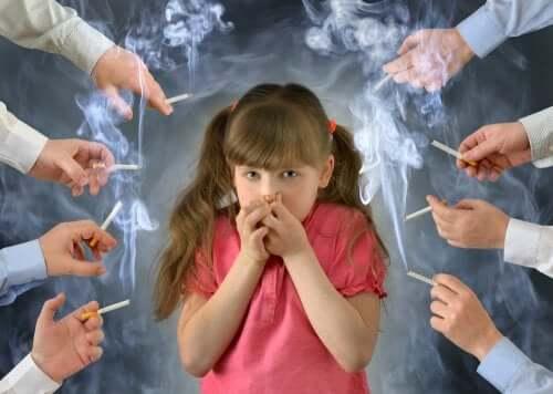 Les effets du tabac sur les enfants