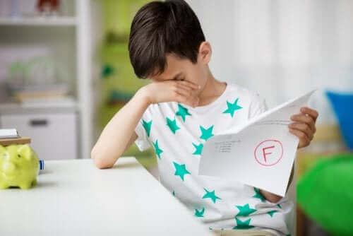 Enfant en échec scolaire