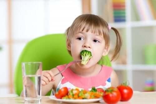 Les goûts alimentaires des enfants