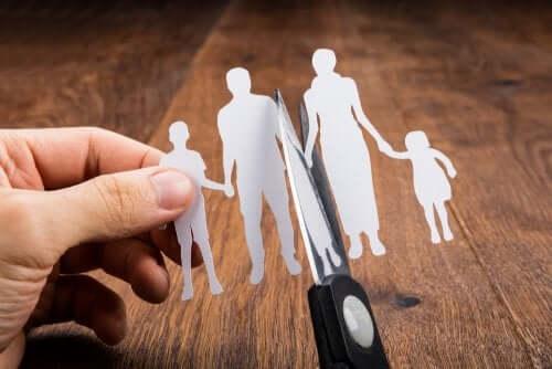 Types de séparation des parents et conséquences sur les enfants
