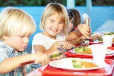 L'alimentation dans les cantines scolaires