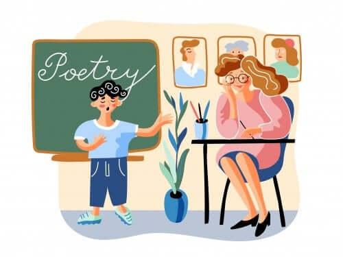 Comment sensibiliser son enfant à la poésie ?