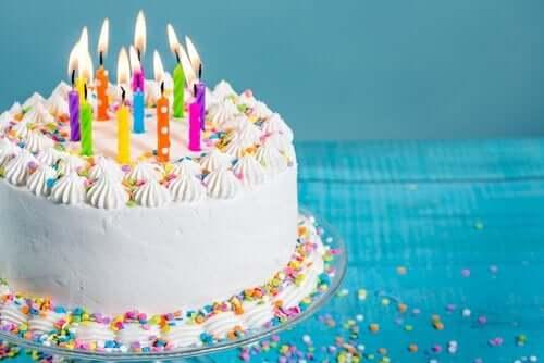 4 idées de gâteaux d'anniversaire