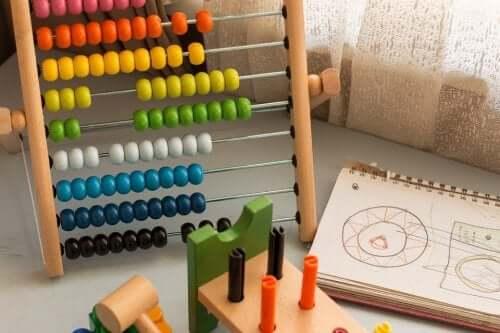 boulier coloré pour apprendre les mathématiques