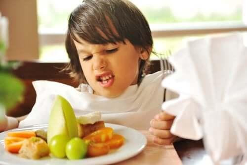 Le trouble de l'alimentation sélective chez l'enfant