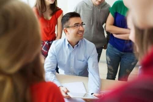 professeur permettant le bien-être des élèves