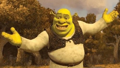 Shrek animé pour enfants de DreamWorks